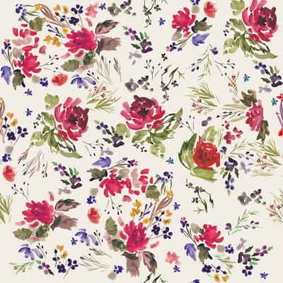Brett Design Velvet Flowers Original