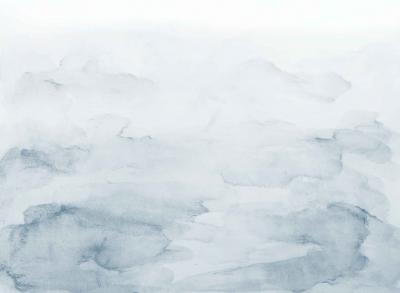 Brett Design Washed Mountains A Grey Blue