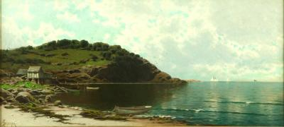 Alfred Thompson Bricher Along the Coast