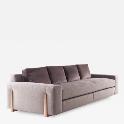 Bright Egan Sofa with tapered leg
