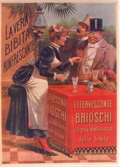 Brioschi a Late 19th Century Italian Poster