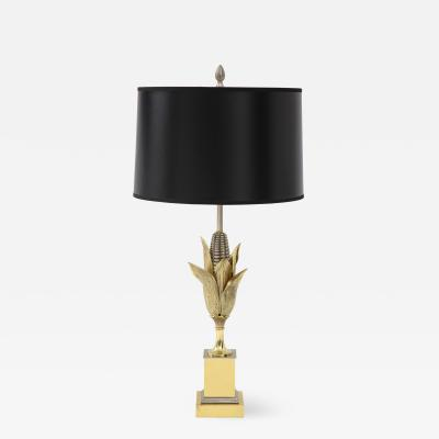 Bronze Corn Lamp