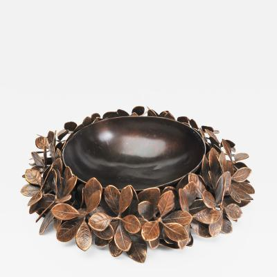 Bronze Kathal Leaf Bowl