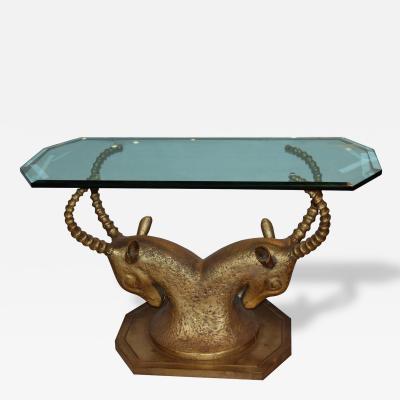 Bronze Ram Console