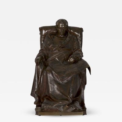 Bronze Sculpture Last Days Of Napoleon