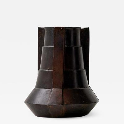 Bronze Vase by Lupo Hori kami