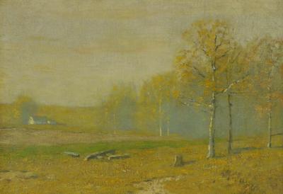 Bruce Crane An Autumn Memory