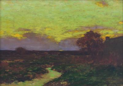 Bruce Crane Sunset Skies