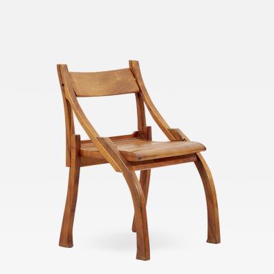Bruce Erdman Chair by Bruce Erdman in Koa Wood 1984