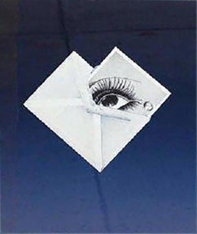 Bruce Richards Witness Man Ray Surrealist Framed Print by Bruce Richards