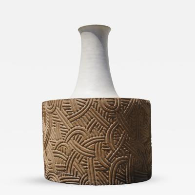 Bruno Gambone Large Stoneware Vessel by Bruno Gambone