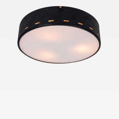 Bruno Gatta 1950s Italian Ceiling Lamp Attributed to Bruno Gatta for Stilnovo