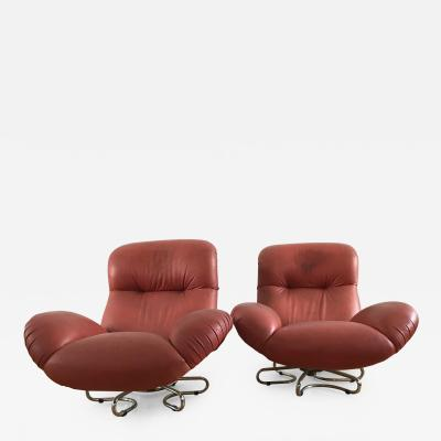 Bruno Gecchelin Bruge Armchairs