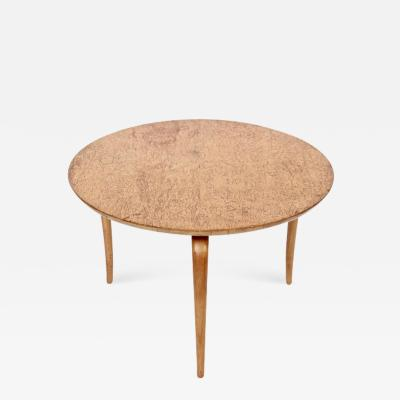 Bruno Mathsson Bruno Mathsson Annika Curly Birch Low Coffee Table 1960