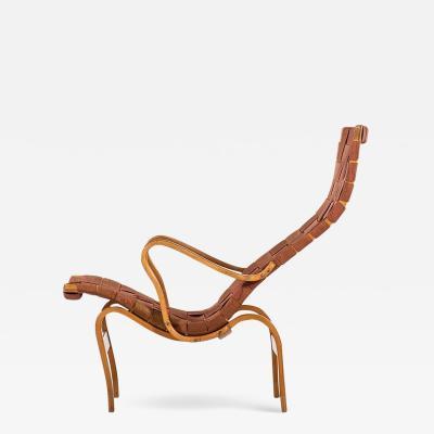Bruno Mathsson Bruno Mathsson Easy Chair Model Pernilla Produced by Karl Mathsson AB