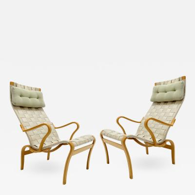 Bruno Mathsson Bruno Mathsson Miranda Lounge Chairs