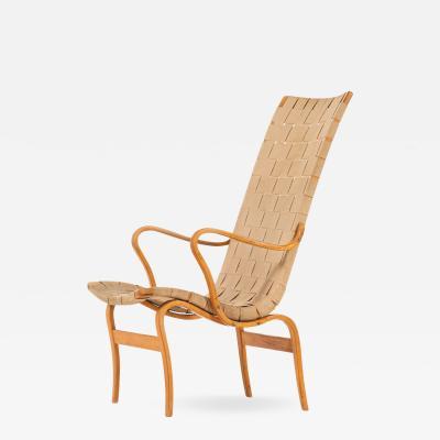 Bruno Mathsson Easy Chair Model Eva H g Produced by Karl Mathsson