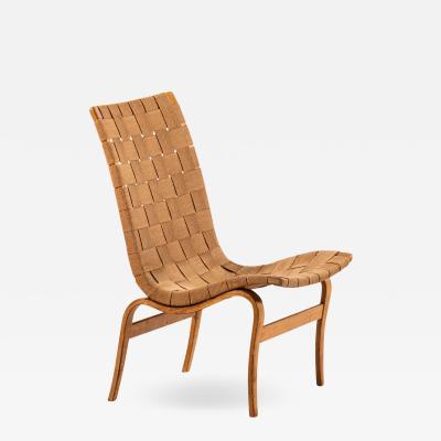Bruno Mathsson Easy Chair Model Eva Produced by Karl Mathsson in V rnamo