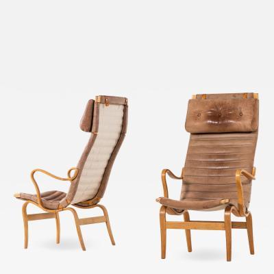 Bruno Mathsson Easy Chairs Model Eva H g Produced by Karl Mathsson AB