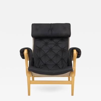 Bruno Mathsson Pernilla 69 Easy Chair in Beech