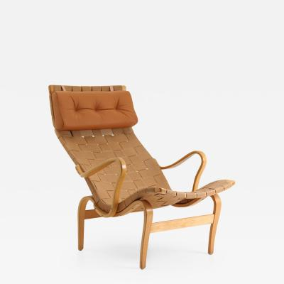 Bruno Mathsson Scandinavian Easy Chair Pernilla 1 by Bruno Mathsson