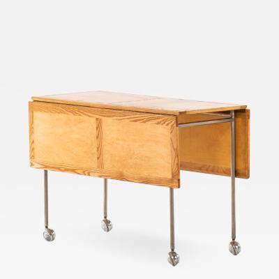 Bruno Mathsson Side Table Produced by Karl Mathsson