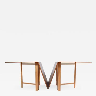Bruno Mathsson Signed Bruno Mathsson Maria Expandable Dining Table for Karl Mathsson 1961
