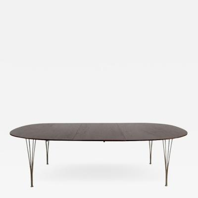 Bruno Mathsson Superellips Dining Table by Bruno Mathsson Piet Hein for Fritz Hansen 1960s