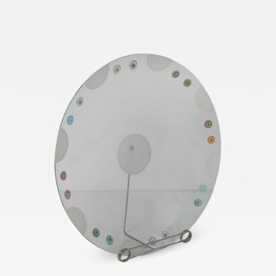 Bruno Munari Rare Bruno Munari Glass Plate from Collezione Murano Italy 1995