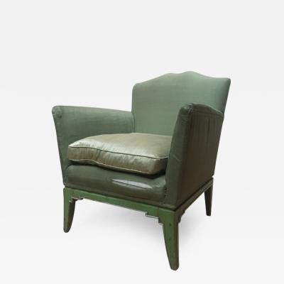 Bruno Paul A German Expressionist Lacquered Art Deco Armchair