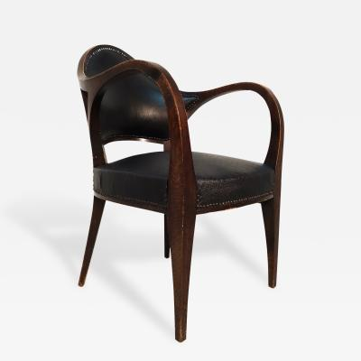 Bruno Paul An Oak Fauteuil No 6126