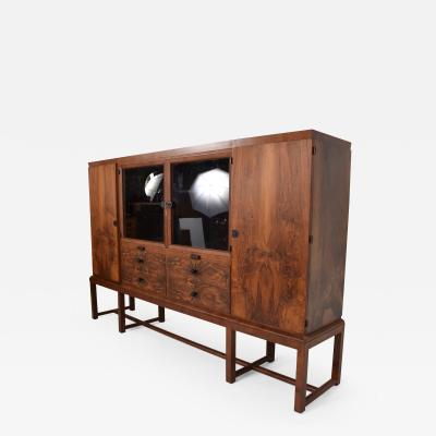 Bruno Paul Bruno Paul Rosewood Cabinet Deutsche Werkst tten Hellerau GmbH Art Deco