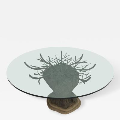 Brutalist Tree Dining or Center Table