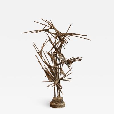 Brutalist Wire Sculpture