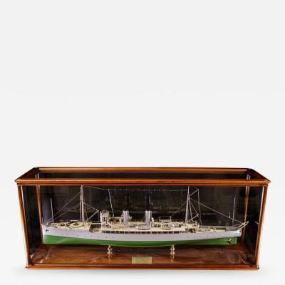 Builders Dockyard Model of the ACACIA Class Sloop H M S HONEYSUCKLE of 1915