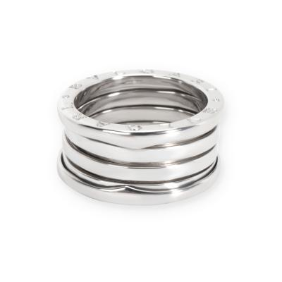 Bulgari B zero1 Ring in 18K White Gold Size 57