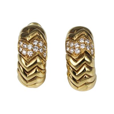 Bulgari Spiga earrings
