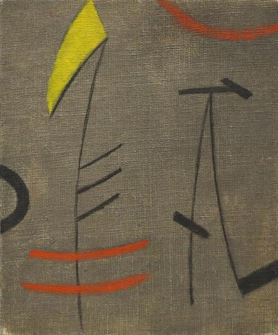 Burgoyne A Diller Untitled Early Abstraction