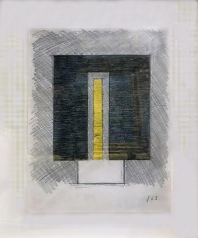 Burgoyne A Diller Untitled Study for Sculpture