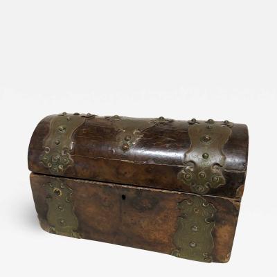 Burl Veneer Document Box