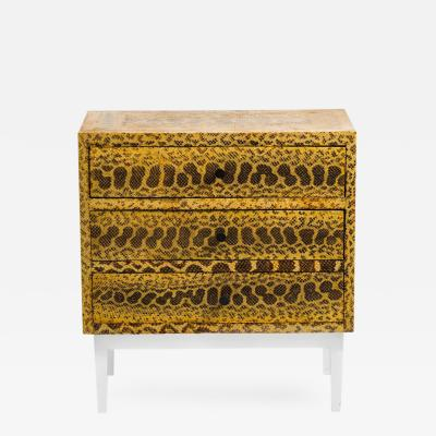 C 04 Snakeskin Chest of Drawers