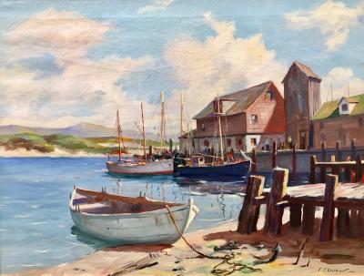 C Hjalmar Amundsen Cape Anne Harbor