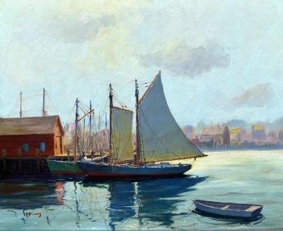 C Hjalmar Amundsen Gloucester Harbor