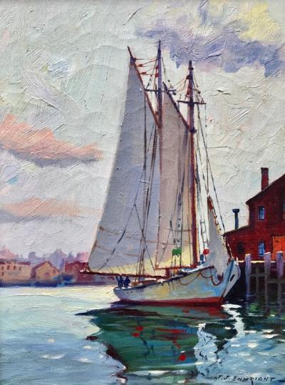 C Hjalmar Amundsen Gloucester Morning