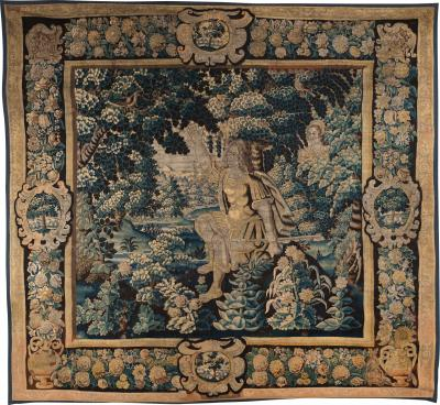 CEPHALUS AND PROCRIS 17TH CENTURY FLEMISH MYTHOLOGICAL TAPESTRY