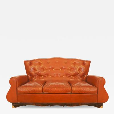 CHESTERFIELD STYLE COUCH France 1940
