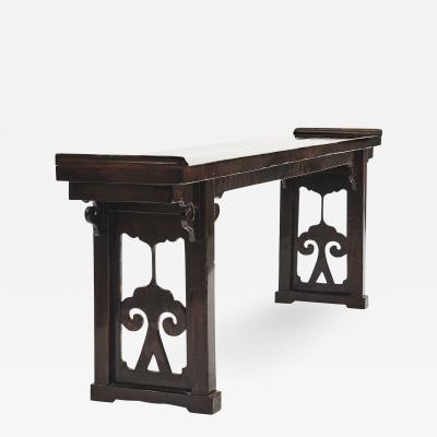 CHINESE 19TH CENTURY ALTAR CONSOLE TABLE FROM JIANGSU