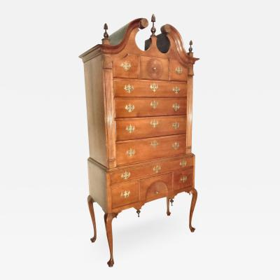 CHIPPENDALE CHERRY HIGHBOY
