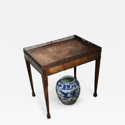 CHIPPENDALE SILVER TABLE ENGLISH CIRCA 1770