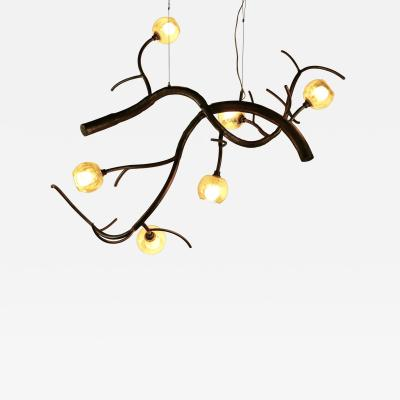 CP Lighting Christopher Poehlmann Double Trunk newGROWTH with Glass Buds